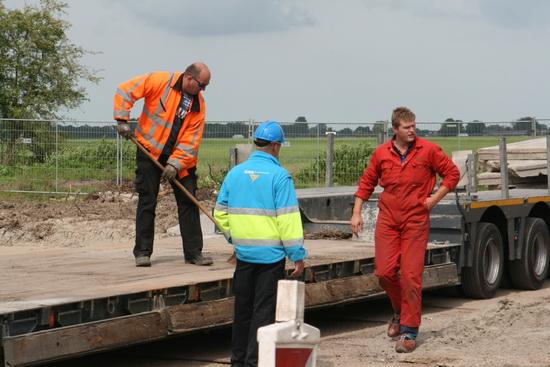 Drie disciplines: Chauffeur van Mechielsen, veldwerker GMB, kraanmachinist van Mulder