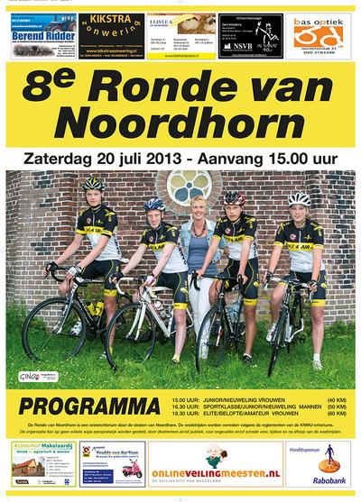 poster Ronde Noordhorn 2013 verkl