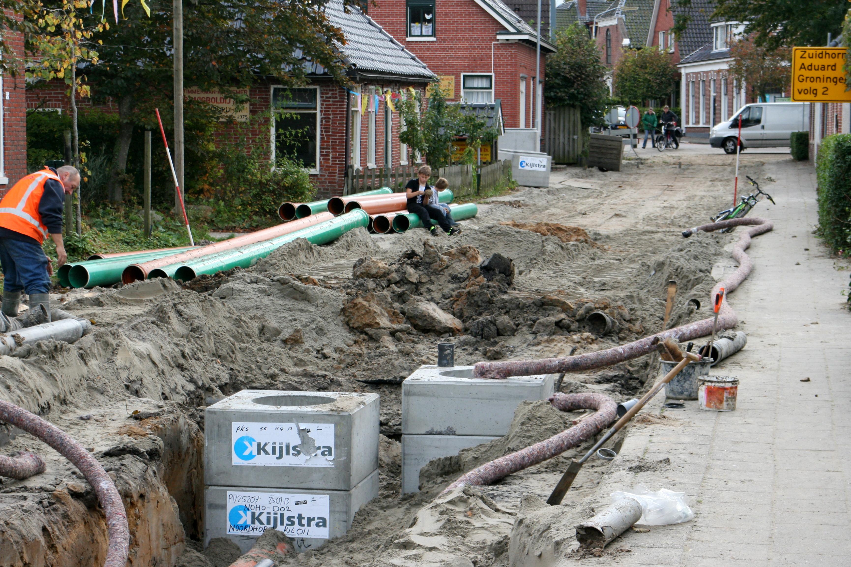 Noordhorn verandert fotojournaal woensdag 9 oktober 2013 aflevering 2 van abraham tot jan - Maak een gang ...