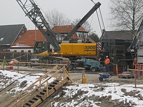 Noordhorn verandert tunnelbouw oost stand van zaken for Monteur de stand