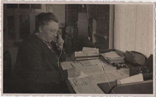 Postkantoorhoudster Martha Melessen
