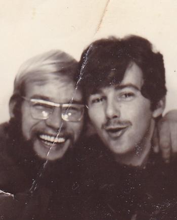 Links Bouke Koop, rechts Jaap Postema