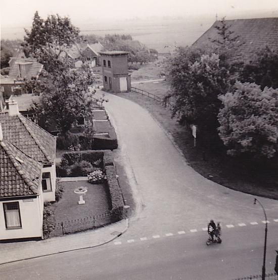 LJL Achterweg vanaf de molen 1952 bew web